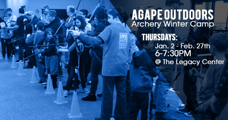 Agape Outdoors Archery Winter Camp