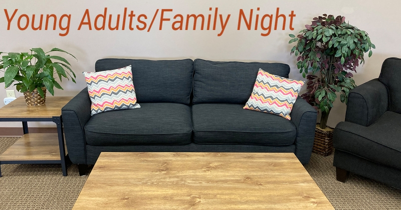 CONNECT: Young Adults / Family Night