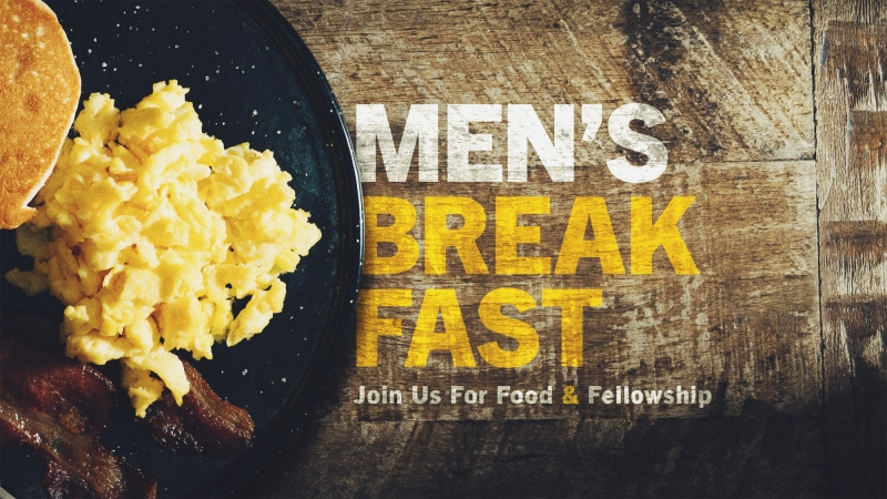 Men's Breakfast with Pastor